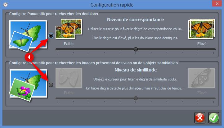Panaustik - Configuration rapide